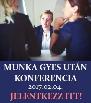Munka GYES után Konferencia