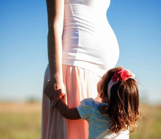 második terhesség, kistesó