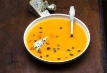 Gyömbéres sütötök leves