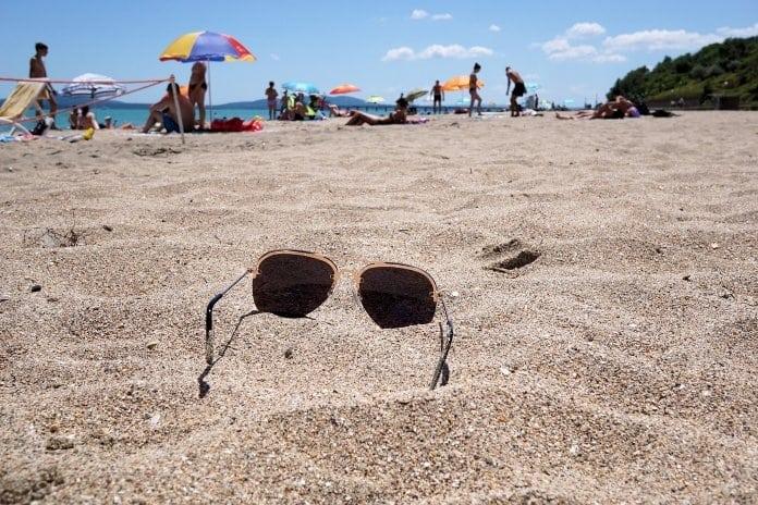 strandolás gyerekekkel