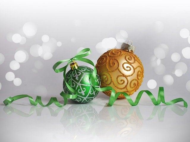 karácsonyi gömbdíszek