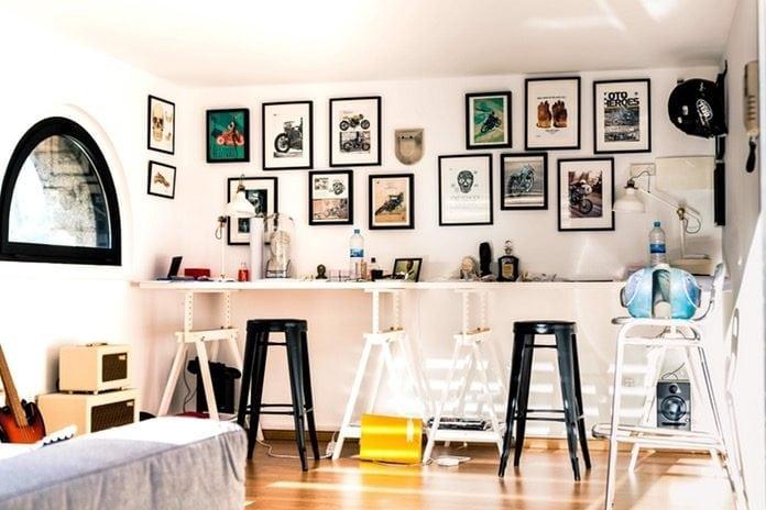 Feng shui ötletek: kreatív fali dekoráció