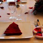 Hangulatos karácsonyi asztal