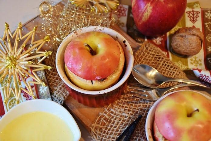 sült alma