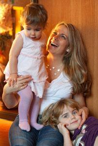 Dóri Mayával és Oliviával
