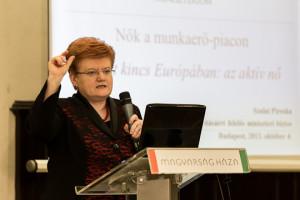 Szalai Piroska miniszteri biztos, fotó: Adrián Zoltán