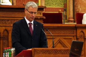 Soltész Miklós államtitkár, fotó: Jámbor Orsolya