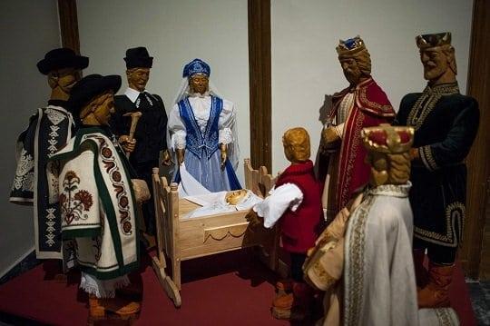 Betlehemi jászol - Kiállítás a Néprajzi Múzeumban