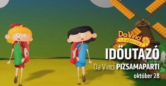 da_vinci_learning_pizsamaparti