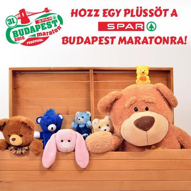 plüssgyűjtés a Budapest Maratonon