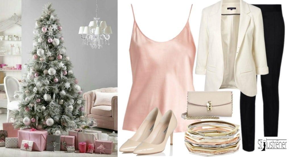 Szolidan elegáns karácsonyi viselet