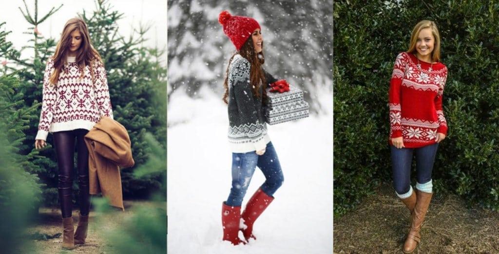 Laza (casual) stílus karácsonykor is