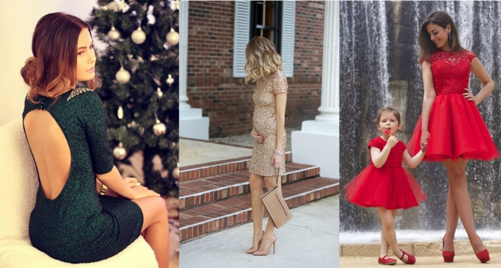 Nagyon elegáns karácsonyi viselet
