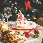 karácsonyi asztalterítés