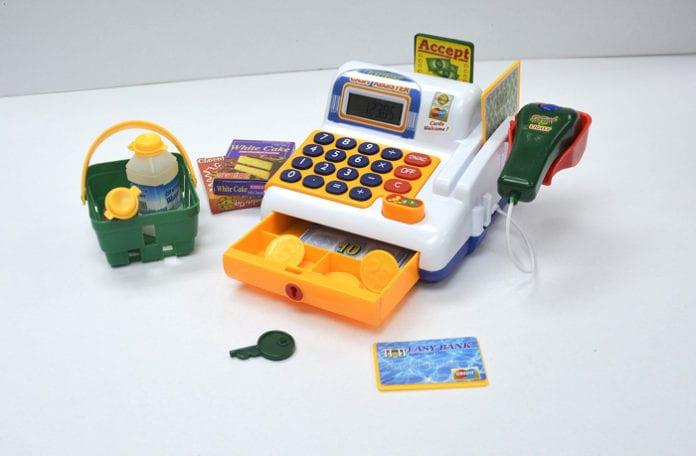 játék pénztárgép