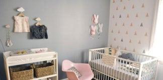 Színek és minták a babaszobában