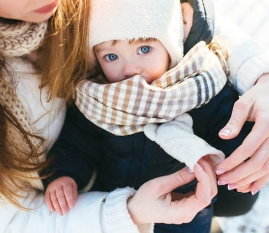 Téli kiruccanás gyerekkel