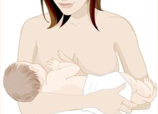 szoptatási pozíció