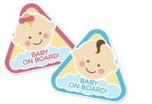 Autóban a babával