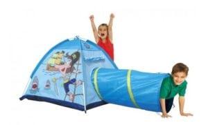 Játszó sátor alagúttal, sátrak gyerekeknek