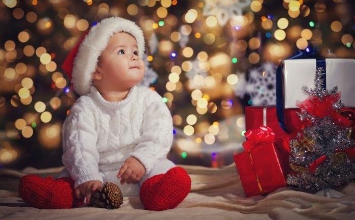 Karácsony babával