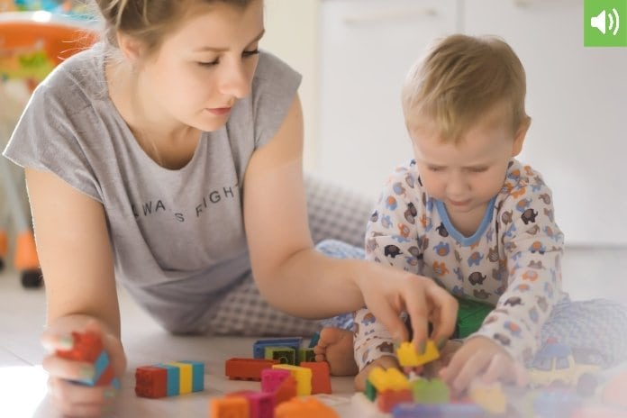 hogyan kell játszani egy gyermeken keresztül