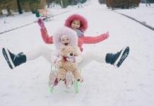asztmás gyerekkel télen