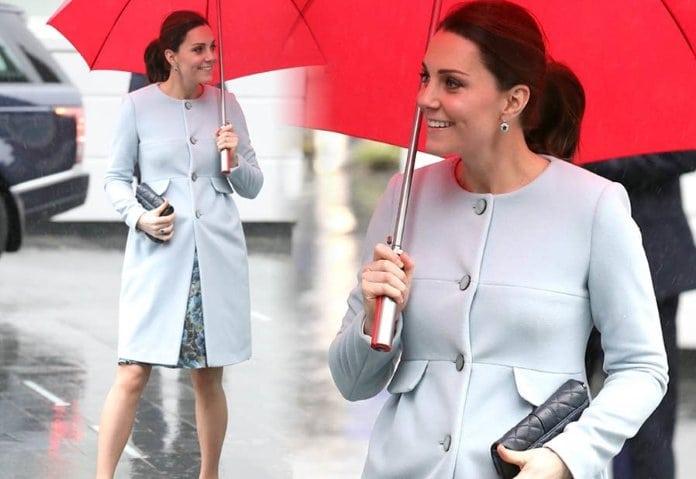 otthonszülés, Kate Middleton