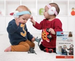 Alpine Muffy Baby fültok, hallásvédelem csecsemőknek