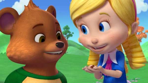 Goldie és mackó
