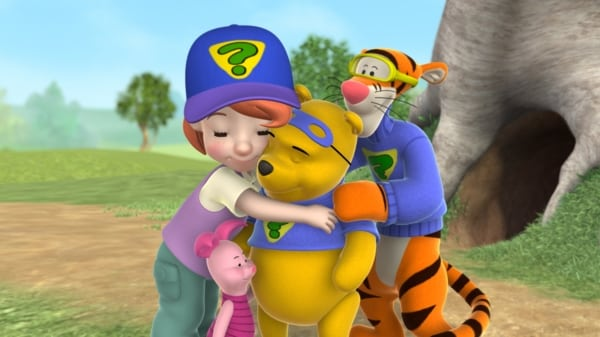 Barátaim: Tigris és Micimackó