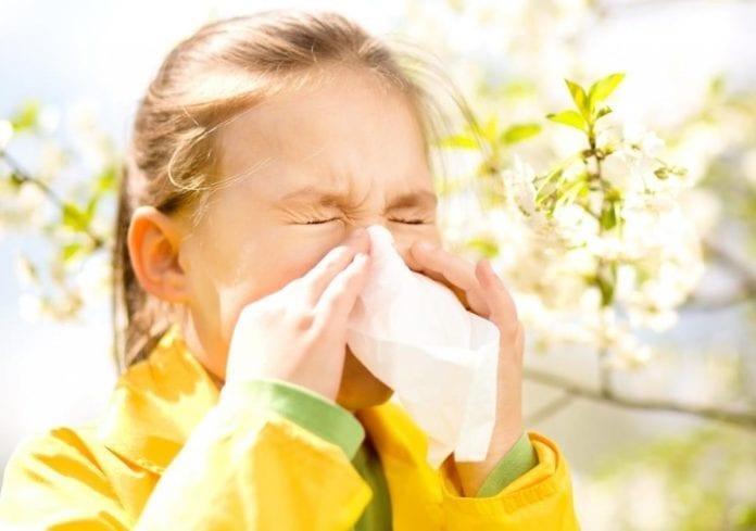 pollenszezon gyerekek