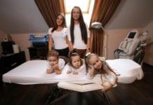 szépségápolás szülés után