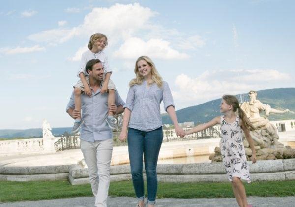 Családi nyaralás Alsó Ausztriában