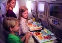 gyerek repülőn