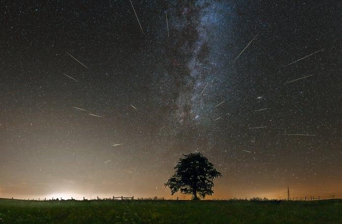Perseidák, csillaghullás