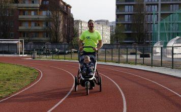 Futó babakocsi – öröm a babának, a futónak és a másik szülőnek is